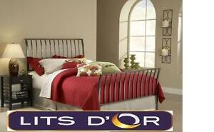 Base de lits en métal pour seulement 49$
