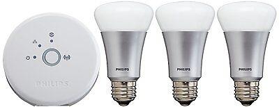 Philips 426353 Hue Personal Wireless Lighting, Starter Pack A19 Starter Kit