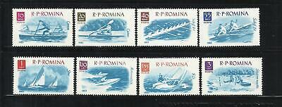 RUMANIA . Año: 1962. Tema: DEPORTES NAUTICOS., usado segunda mano  Embacar hacia Argentina
