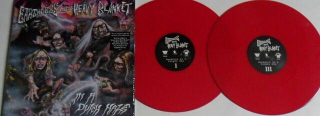 LP EARTHLESS Meets HEAVY BLANKET In A Dutch Haze RED VINYL (2LP) - STILL SEALED