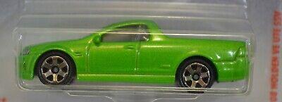 08 Holden VE Ute SSV Green 2019 Matchbox