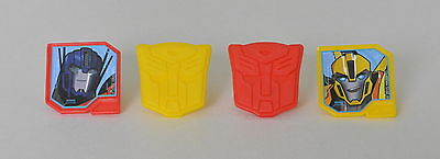 12 Transformers Autobot Cupcake Rings Bday Party Goody Bag Favor Pinata Filler (Transformer Pinata)