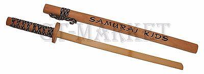 Samurai Kids Holz Katana Schwert - Trainings Schwert - Kinder Schwert