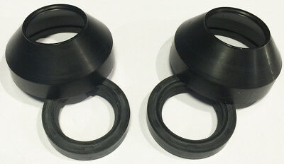 Fork Dust Wiper & Oil Seal Kit Set Seals Kawasaki KZ440 LTD & Belt 1980 81 82 83 Dust Wiper Fork Seals