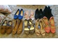 large amount shoes size 7 & 8
