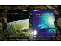 Planet Earth and The Blue Planet DVD Box sets