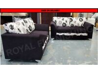 FACTORY PACKED BERLIN 3+2 SOFA SET==NEXT DAY DELIVERY