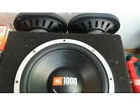 Jbl sub and 6x9 speakers