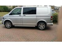 Set of alloys from my vw transporter t5
