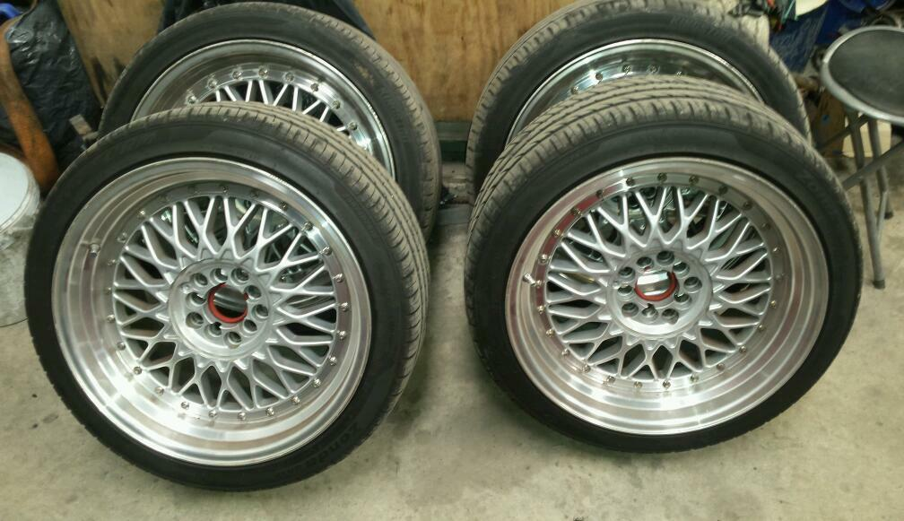 Bbs Rs 18 Inch 8 5 And 9 5 5x112 And 5x100 In Banbridge