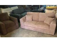 New metal action sofa bed and armchair only £245