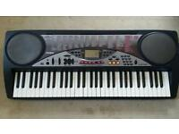 Casio 61 Touch Response Keys Piano Keyboard - Good working order