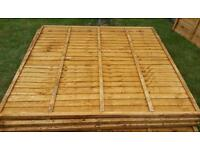 6ft x 6ft fence panels x9