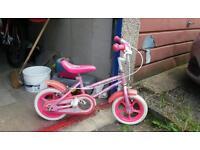 Girls bike (age 3-5 years)