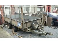 Ifor Williams LM105 Trailer With Ramps High Sides Flatbed Car Transporter