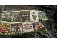 10 xbox 360 games. Offers/swaps