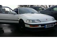 Honda crx Vtec, not type r civic, s2000
