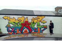 "graffiti piece i done in 2016 at Clifton with a friend""Tagstar"" also some mixed media art work"