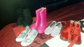 girls size 8 shoe bundle