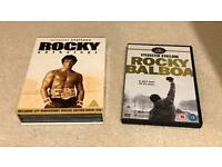 Collection of Rocky DVDs