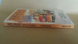 Belfast City of Song 1989 Rare 1st edition Book in Nice Condition