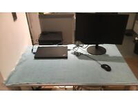 ThinkVision 23-inch Wide monitor + HDMI/VGA cables