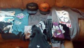 Bundle Of Men's/Boys Urban/Hip Hop Clothes
