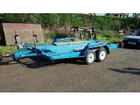 Car transporter trailer (tilt bed)