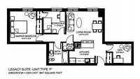 2 Bedroom Unit + Den For Rent -  810 BLACKBURN MEWS - West End