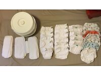 Complete Bundle of Birth to Potty Reusable Nappies