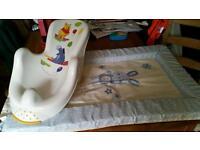 Baby Changing Matt and Bath Seat