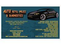 Auto Key Programming , Diagnostics , Mileage Correction