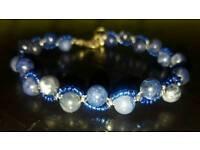 Gemstone bracelet-sodalite