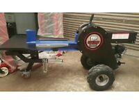 34 ton Kinetic Rapid Log wood Splitter. Towable, Briggs & Stratton 34ton UK Delivery!