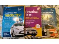 3 driving test books