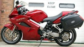 2007 HONDA VFR 800 A-6 RED ##sale agreed##