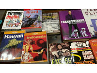 Lovely Book collection The Lonely Planet. WWE The ROCK , Frank Skinner,Jamie Oliver,Book collection