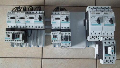 Siemens Buss W/4025 & 4063 Adaptors W/ Breakers and Contactors