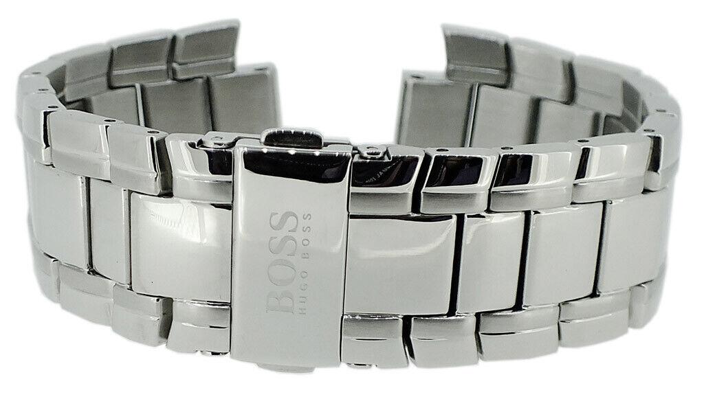 Hugo Boss Black Ersatzband Edelstahl silberfarben 1513025 1513034 1513199