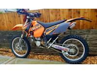Ktm 250 exc 2006 road reg
