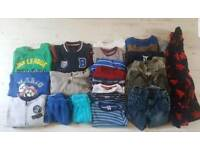 Bundle boys clothes 4-5 years good names