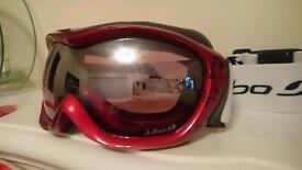 £75 Ski snowboarding winter sport goggles women child coated uv polariser lenses glasses