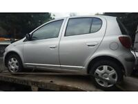 Toyota Yaris 2003 1.0 Petrol For Breaking - CALL NOW!!!
