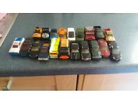 matchbox and hotweels cars
