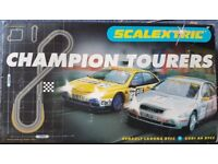 SCALEXTRIC CHAMPION TOURERS C1021 BOXED COMPLETE
