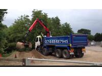 Birmingham grab hire & haulage ltd muck away bricks soil tarmac rubbish removed skip hire