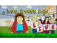 1 x Ticket Mrs Browns Boys Live - Genting Arena - 8th April