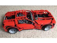 Lego Technic Supercar 8070 - Retired Set