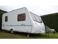 Lunar Zenith 4. 2005 Light weight caravan complete with all you need. Excellent condition.