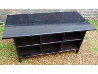 IKEA Leksvik Solid Wood Coffee Table / Shoe Stand / TV Unit